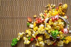 Τρόφιμα γιορτής γενεθλίων Στοκ Εικόνες