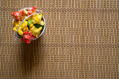 Τρόφιμα γιορτής γενεθλίων Στοκ εικόνα με δικαίωμα ελεύθερης χρήσης