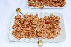 Τρόφιμα δάχτυλων της ιταλικής λεπτής κουζίνας Στοκ Εικόνες