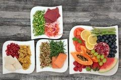 Τρόφιμα διατροφής για την απώλεια του βάρους στοκ εικόνες με δικαίωμα ελεύθερης χρήσης