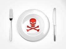 Τρόφιμα επικίνδυνα Στοκ φωτογραφίες με δικαίωμα ελεύθερης χρήσης