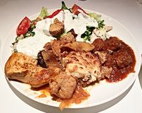 Τρόφιμα Θεσσαλονίκης Στοκ Εικόνα