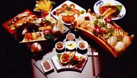 τρόφιμα ιαπωνικά Στοκ Εικόνες