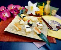 τρόφιμα ιαπωνικά Στοκ εικόνες με δικαίωμα ελεύθερης χρήσης