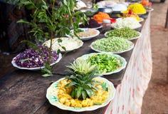 τρόφιμα Ινδός φεστιβάλ Στοκ εικόνες με δικαίωμα ελεύθερης χρήσης