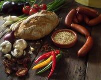 τρόφιμα ισπανικά Στοκ Φωτογραφίες