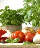 τρόφιμα ιταλικά Στοκ Εικόνες