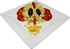τρόφιμα καβουριών έννοιας Στοκ Φωτογραφία