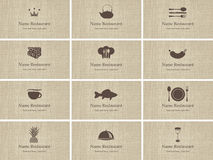 Τρόφιμα και ποτό διανυσματική απεικόνιση
