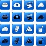 τρόφιμα κουμπιών Στοκ Φωτογραφία
