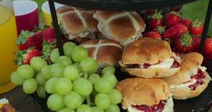 Τρόφιμα κόμματος κήπων φιλμ μικρού μήκους