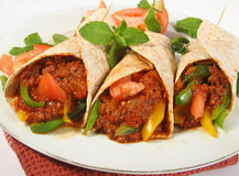 τρόφιμα μεξικανός Στοκ Εικόνες
