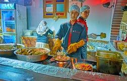 Τρόφιμα οδών στην Τεχεράνη Στοκ Φωτογραφίες