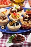 τρόφιμα ορεκτικών Στοκ Εικόνα
