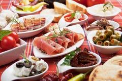 τρόφιμα ορεκτικών Στοκ Εικόνες
