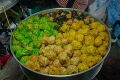 Τρόφιμα οδών στη Μπανγκόκ, Ταϊλάνδη Στοκ φωτογραφία με δικαίωμα ελεύθερης χρήσης