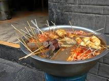 Τρόφιμα οδών της Κίνας Στοκ Φωτογραφίες