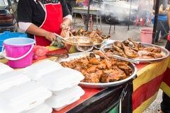 Τρόφιμα οδών bazaar στη Μαλαισία για iftar κατά τη διάρκεια της νηστείας Ramadan Στοκ εικόνες με δικαίωμα ελεύθερης χρήσης