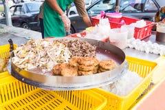 Τρόφιμα οδών bazaar στη Μαλαισία για iftar κατά τη διάρκεια της νηστείας Ramadan Στοκ Εικόνα