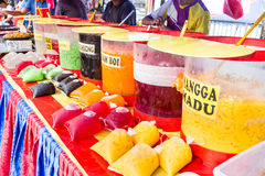 Τρόφιμα οδών bazaar στη Μαλαισία για iftar κατά τη διάρκεια της νηστείας Ramadan Στοκ φωτογραφίες με δικαίωμα ελεύθερης χρήσης