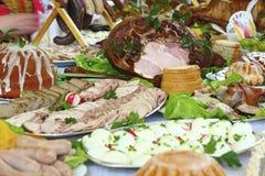 τρόφιμα Πάσχας στοκ φωτογραφίες