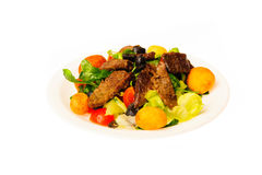 Τρόφιμα που απομονώνονται στο άσπρο υπόβαθρο Στοκ φωτογραφία με δικαίωμα ελεύθερης χρήσης