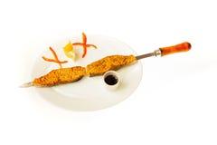 Τρόφιμα που απομονώνονται στο άσπρο υπόβαθρο Στοκ εικόνα με δικαίωμα ελεύθερης χρήσης