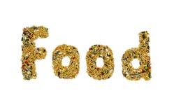 Τρόφιμα πουλιών Στοκ Εικόνες
