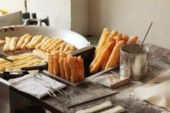 τρόφιμα που τηγανίζονται &kappa Στοκ φωτογραφία με δικαίωμα ελεύθερης χρήσης