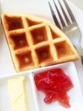 Τρόφιμα προγευμάτων Στοκ εικόνα με δικαίωμα ελεύθερης χρήσης