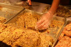 Τρόφιμα πρόχειρων φαγητών οδών της Κίνας Στοκ φωτογραφία με δικαίωμα ελεύθερης χρήσης