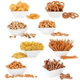 Τρόφιμα πρόχειρων φαγητών Στοκ Εικόνα