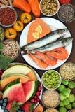 τρόφιμα σιτηρεσίου υγιή στοκ εικόνες