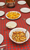 τρόφιμα σιτηρεσίου Στοκ Εικόνες