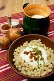 τρόφιμα σλοβάκικα παραδοσιακά Στοκ φωτογραφία με δικαίωμα ελεύθερης χρήσης