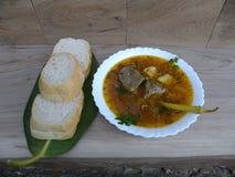 Τρόφιμα Σούπα παπιών στοκ εικόνα