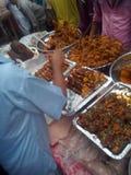 Τρόφιμα στη χώρα του Μπανγκλαντές Στοκ Εικόνες