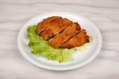 Τρόφιμα στο πιάτο στοκ εικόνες με δικαίωμα ελεύθερης χρήσης