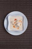 Τρόφιμα στο πιάτο Στοκ φωτογραφίες με δικαίωμα ελεύθερης χρήσης