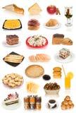 τρόφιμα συλλογής Στοκ Εικόνες