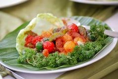 τρόφιμα της Ασίας Στοκ Φωτογραφία