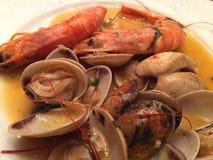 Τρόφιμα της Ισπανίας απίστευτα Στοκ Εικόνες