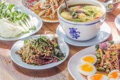 τρόφιμα της Ταϊλάνδης στοκ εικόνες