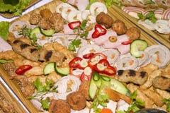 τρόφιμα τομέα εστιάσεως Στοκ φωτογραφίες με δικαίωμα ελεύθερης χρήσης