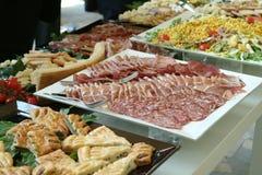 τρόφιμα τομέα εστιάσεως Στοκ Εικόνες