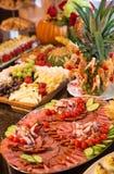 Τρόφιμα τομέα εστιάσεως Στοκ εικόνες με δικαίωμα ελεύθερης χρήσης