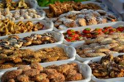 Τρόφιμα του Μαρακές Στοκ Εικόνες