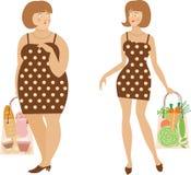 τρόφιμα υγιή Διανυσματική απεικόνιση