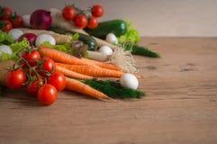 τρόφιμα υγιή Juicy φρέσκα λαχανικά Στοκ Φωτογραφίες