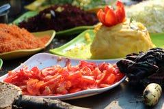 Τρόφιμα φεστιβάλ Ινδία Στοκ Φωτογραφία